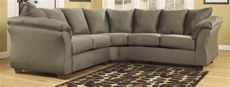 ashley darcy sectional sofa ashley furniture darcy sofa sage refil sofa