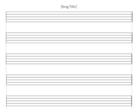 templates for musicians staff paper template template as image