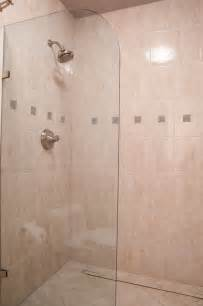 Walk In Shower Designs For Small Bathrooms fresh best doorless walk in shower designs for small 18119