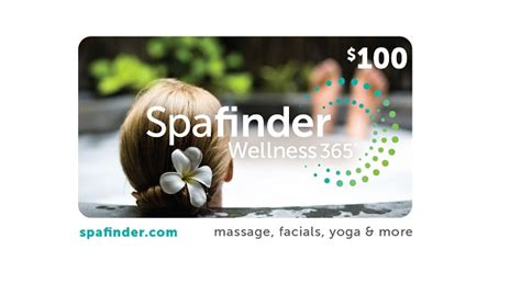 Spafinder Wellness 365 Gift Card - 2015 holiday gift guide gift ideas for everyone on your list