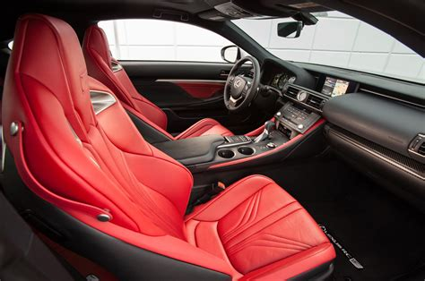 lexus rc interior 2015 lexus rc f reviews and rating motor trend