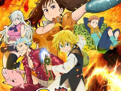 anoboy nanatsu no taizai 17 de febrero nueva temporada de seven deadly sins
