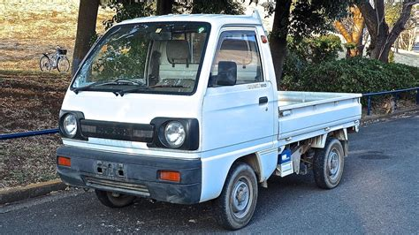 kei truck 1990 suzuki carry kei truck usa import auction