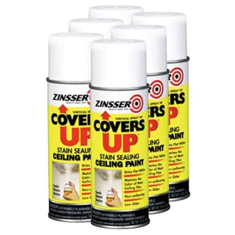 Primer As Ceiling Paint by Zinsser Covers Up Paint Primer In One 13 Oz For Ceiling