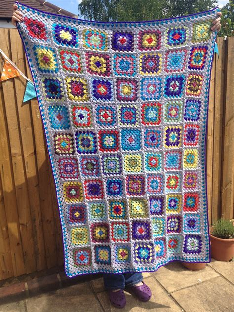 Square Afghan Blanket by Square Afghan Crochetime
