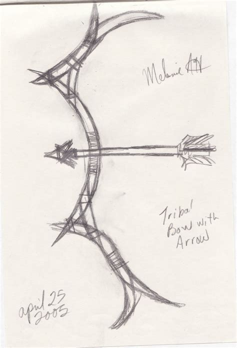 tribal bow and arrow tattoo tribal bow and arrow by relicraider on deviantart