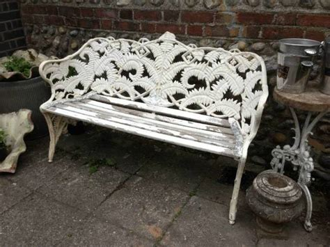 coalbrookdale bench coalbrookdale fern and blackberry bench in from the shop lewes