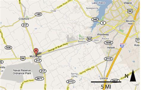 mcgregor texas map sighting reports 2006