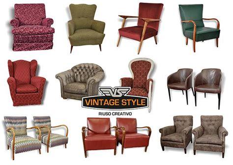 poltrone americane divani e poltrone vintage arredamento anni 40 e 50