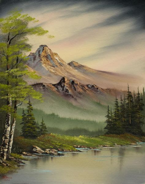 bob ross painting nature s paradise bob ross evenings peace paintings for sale paintings biz