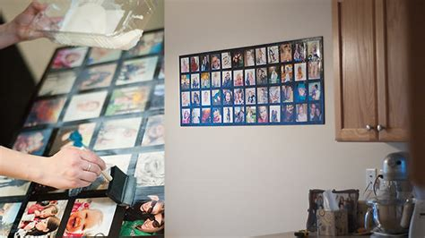 how to make a photo wall collage make an awesome wall picture collage