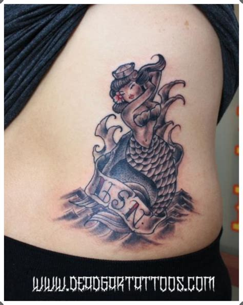 pin up mermaid tattoo designs 30 fantastic mermaid designs