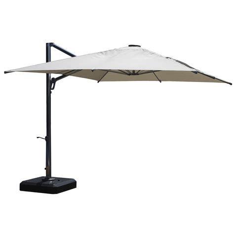 Square Cantilever Patio Umbrella Infinita Corporation 10 Square Cantilever Umbrella Wayfair