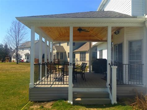 Covered Porch Design by Covered Porch Ideas Cleveland