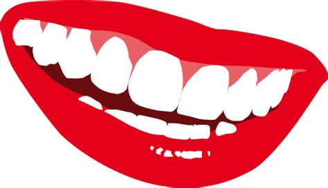 showing teeth smile teeth clipart clipart suggest