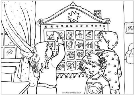 printable advent calendar coloring page free printable advent puzzles new calendar template site