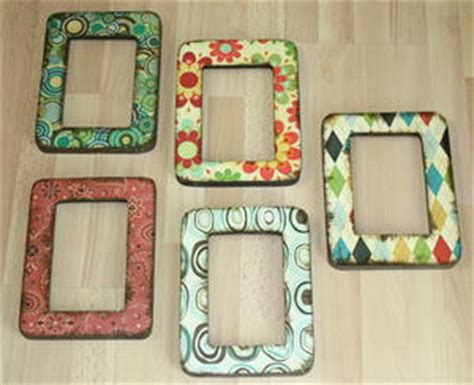 How To Make Decoupage Medium - easy decoupage frames favecrafts