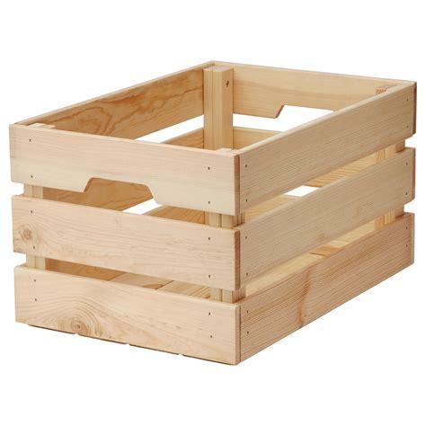Knagglig Box 46x31x25 Cm Ikea | knagglig box pine 46x31x25 cm ikea