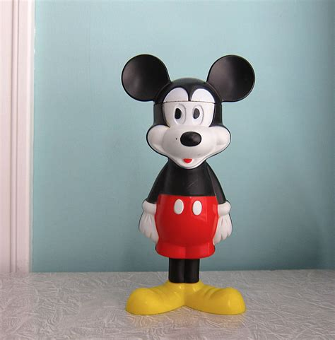 Mouse Avan avon mickey mouse bath bottle by retrogirlredux on etsy