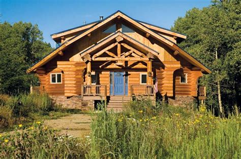 Summit Handcrafted Log Homes - small handcrafted log home summit handcrafted log homes