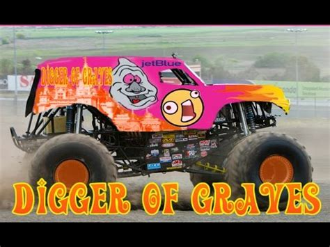 grave digger monster truck theme song digger of graves full theme song hd audio youtube