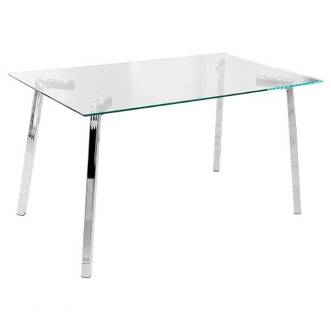 clear dining table clear glass dining table