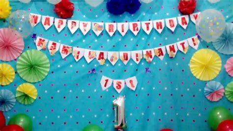 cara membuat lu tidur romantis dekorasi ulang tahun youtube