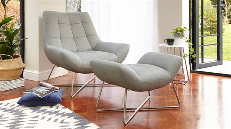 designer occasional chairs uk modern leather footstool occasional chair uk