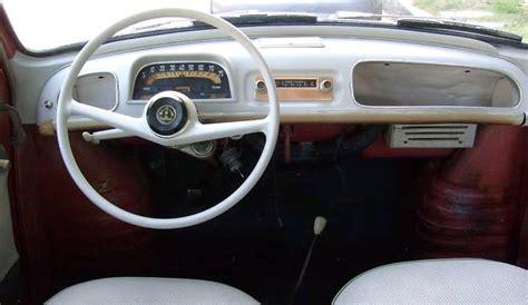 renault dauphine interior just a car 1959 renault dauphine