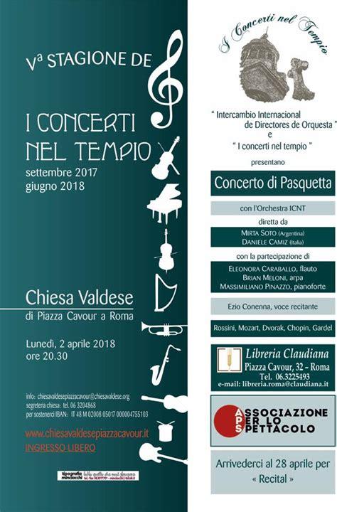 libreria evangelica roma concerti chiesa evangelica valdese di roma