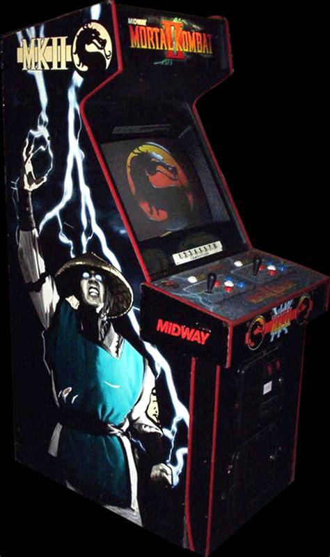 Mortal Kombat Cabinet by Mortal Kombat Ii Arcade 1993 Midway Oc Remix