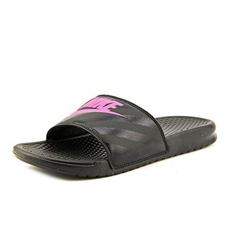 nike benassi swoosh slide sandals nike s benassi jdi swoosh slide sandal