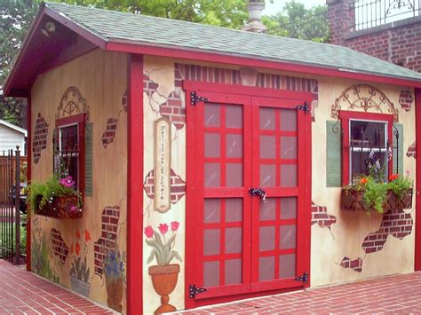 shed home decor garden sheds they ve never looked so hgtv