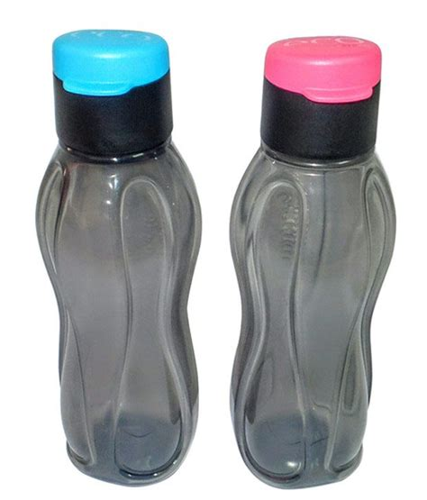 Tupperware Eco Bottle 1000ml tupperware black flip top bottle set of 2 1000ml buy