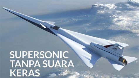Pesawat Terbang Komersial inilah pesawat supersonic komersial pertama di dunia