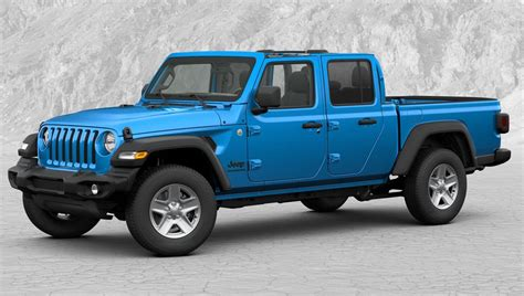 2020 Jeep Gladiator Color Options by 2020 Jeep Gladiator Configurator Goes Live Road