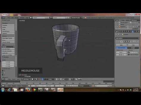 Tutorial Blender Membuat Gelas | tutorial membuat gelas menggunakan blender 2 68a youtube
