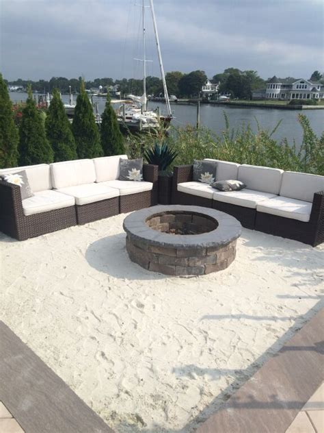 sand in backyard 25 best ideas about sand fire pits on pinterest beach