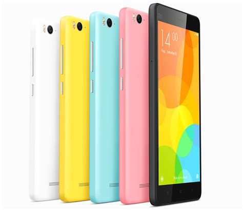 i 3 mobile xiaomi mi 4i with 5 inch 1080p display snapdragon 615 soc