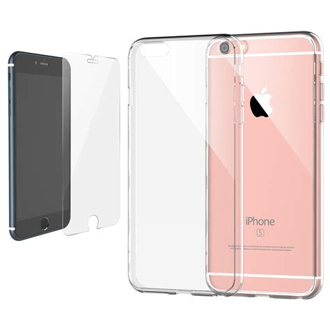for iphone 7 7 plus tempered glass screen protector slim clear cover ebay