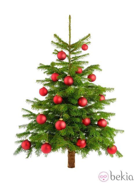 193 rbol de navidad decorado con bolas rojas ideas para