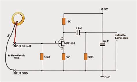 build circuit how to build a diy contact mic circuit
