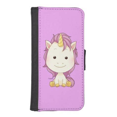 unicorn y0701 iphone 5 5s capstyle unicorn iphone 5 5s wallet zazzle