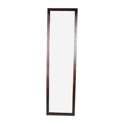 80 off square curved wooden frame mirror decor