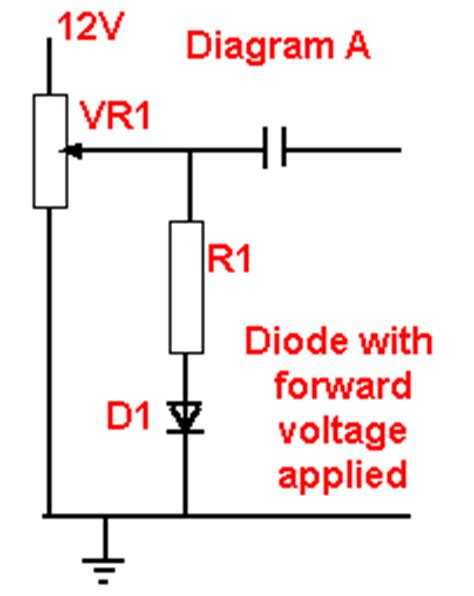 diode forward bias circuit diagram diode forward bias circuit diagram 28 images diode direction gallery difference between pn