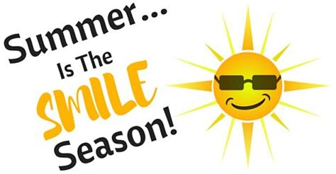 reasons summer   smile season