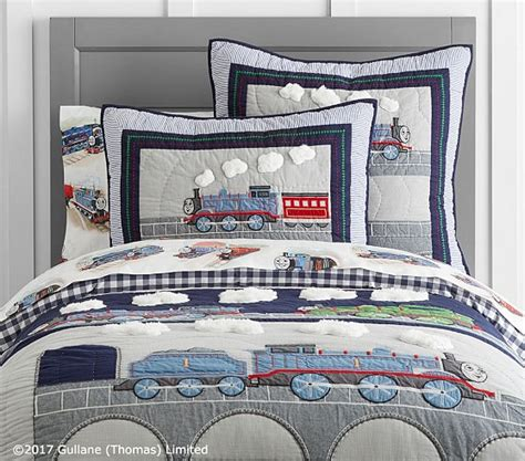 thomas and friends bedding thomas friends quilt pottery barn kids