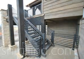 Rug Treads Residential Railings Contemporary Staircase Salt