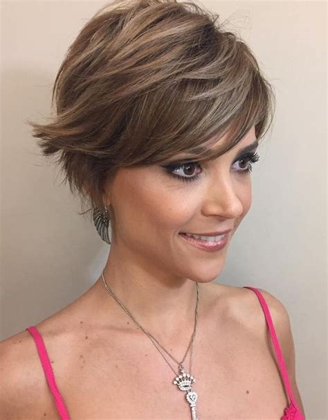 long feathered pixie cut 50 cute and easy to style short layered hairstyles