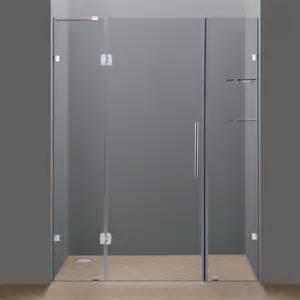 shower door stores aston sdr983 frameless hinge shower door with glass